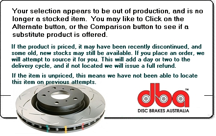 DBA404SL disc brake rotor, no longer available