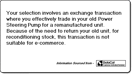PSR1003 exchange power steer pump