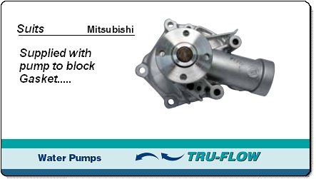TF8334 tru-flow water pump